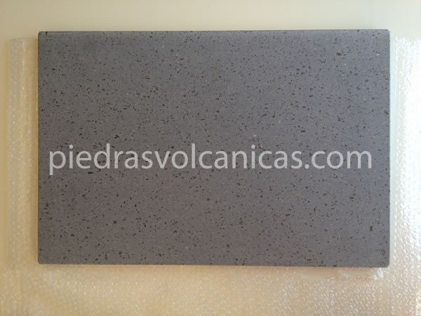 Piedra volc nica natural para asar 60x40x2cm for Barbacoas de piedra natural