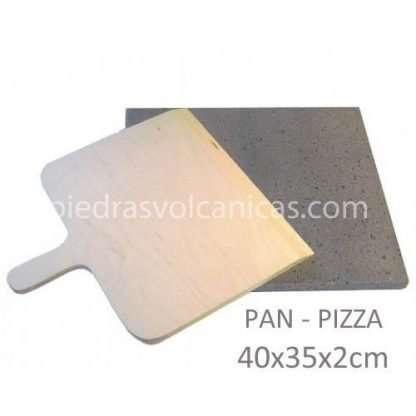 piedra volcanica para hornear pan y pizza