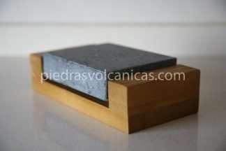 IMG 5721 324x216 - Piedra para cocinar a la piedra 12x10x3 con base madera